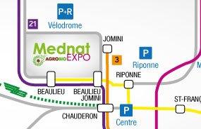 Mednat 30e & Agrobio Expo 2018 : Informations Pratiques / Accès