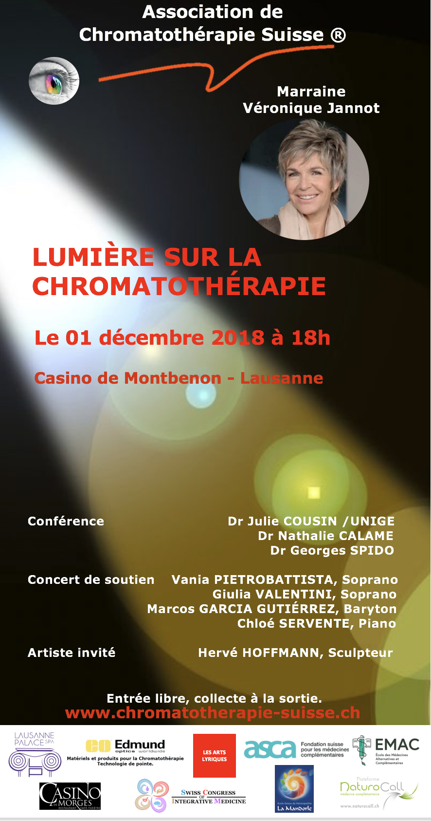 Association de Chromatothérapie Suisse 2018 : News